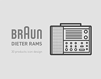 Braun x Dieter Rams icon