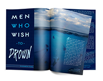 Men Who Wish to Drown | Editorial Spreads