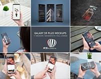 Samsung Galaxy S9 Plus Mockups