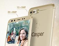 Casper / Via F2 Poster Design