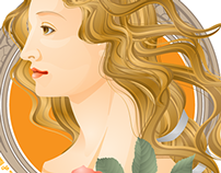 Goddess of Illustrator  kawacoco vector works Feb.2015