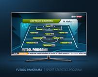 FUTBOL PANORAMA | SPORT STATISTICS PROGRAM