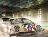 Matte Painting - Volkswagen - Polo R WRC Drift