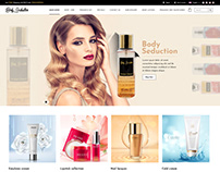 Body Seduction website design