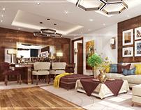 Modern Apartment Reception | Design