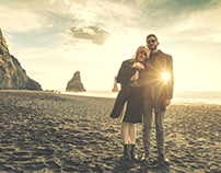 Sarra's Wedding - Black Beach on Iceland 2016