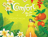 Comfort limited Edition Packaging 2019