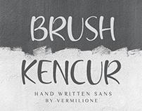 Brush Kencur Hand Writen Sans