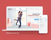FINAER | Rediseño de App web