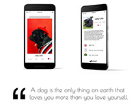 Pupper - Dog Adoption App