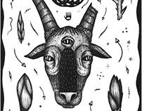 """Goat"" poster design"