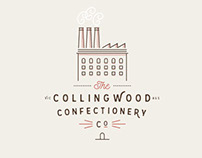 Collingwood Confectionery Co. Branding