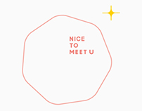 NICE TO MEET U |品牌設計