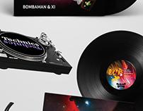 Bombaman & XI EP - Aufect Records
