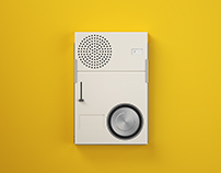 BRAUN TP1 Radio Designed by Dieter Rams