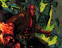 HELLBOY colors collaboration