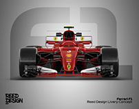 Ferrari F1 - Livery Concept