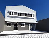 Desain Office & Warehouse Wonorejo Surabaya