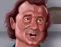 What About Bob Digital Painting