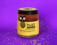 Buzz Caffeinated Honey