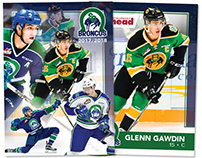 2017/18 Broncos Hockey Cards