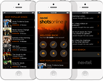 "Nextel ""ShotsOnline"" Mobile Web"