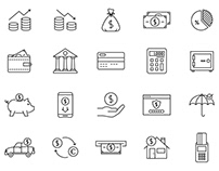 Finance Vector Icons