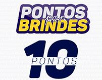 RADAR ROLAMENTOS - PONTOS POR BRINDES