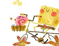 Illustrations animation
