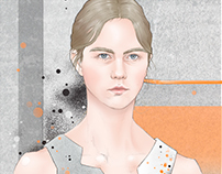 Christopher Kane SS 2016; illustration