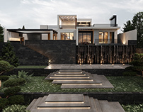 Dzoraghbyur Cascade House, Armenia by Kulthome