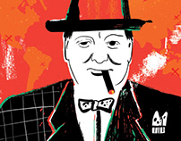 Illustration_portrait of Churchill
