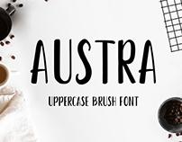 Austra - Free Brush Font