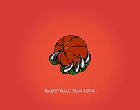 Basket Ball Team Logo