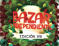 (PaperCraft) Póster de Bazar Independiente
