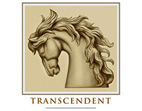 Transcendent Wine Label Illustrated by Steven Noble