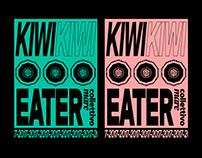 KIWI EATER - Poster Design