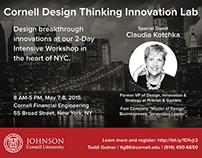Cornell Design Thinking Innovation Lab (2015)