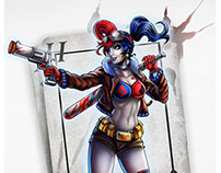 Fanart Harley Quinn