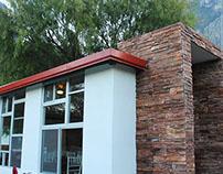Restaurante en La Posada - Hidalgo NL, Camping Lodge