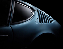 VW SP2 car fine art photography (FDL technique)