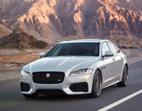 2016 Jaguar XF Design