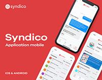 Syndico - Dev et design application ios / android