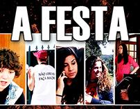 "Cartaz Oficial ""A Festa"" (Curta-Metragem)"