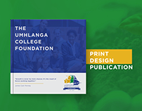 Umhlanga College Foundation Print Brochure