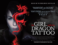 THE GIRL WITH THE DRAGON TATTOO • MOVIE POSTERS