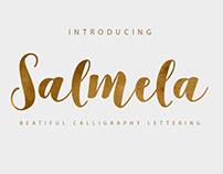 SALMELA - FREE CALLIGRAPHY FONT