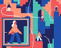 Designers & Developers Illustration