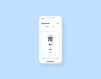 Flashcards - App design