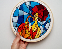 Jazzy - Embroidery Art